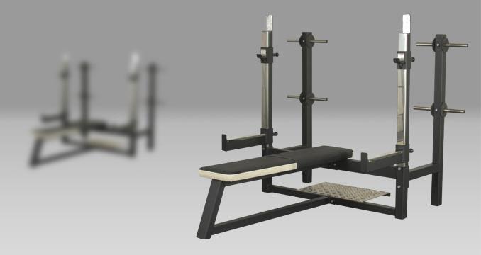 Posilovací lavice na tlaky rovná klasik