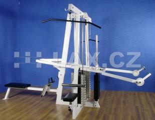 Posilovací stroj klasik Věž 4 stanoviště NEW