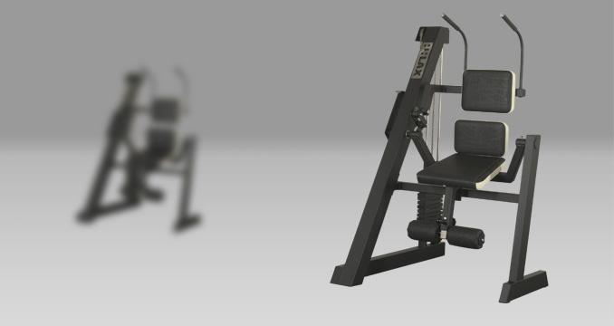 Posilovací stroj břicho kombinované klasik