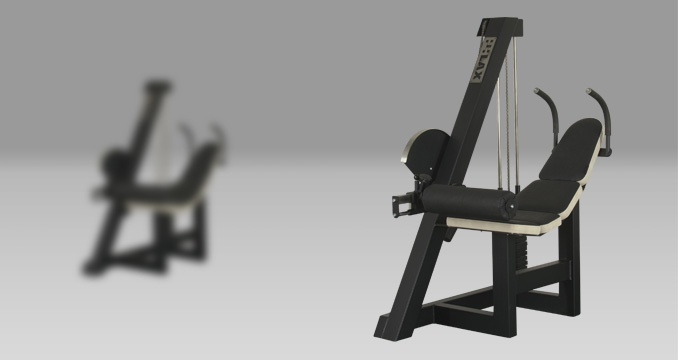 Posilovací stroj břicho spodní klasik