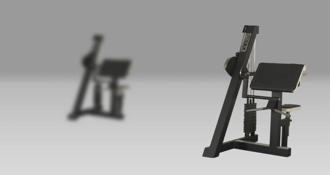 Posilovací stroj biceps+triceps izolovaný klasik