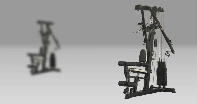 Posilovací stroj compact gym profi