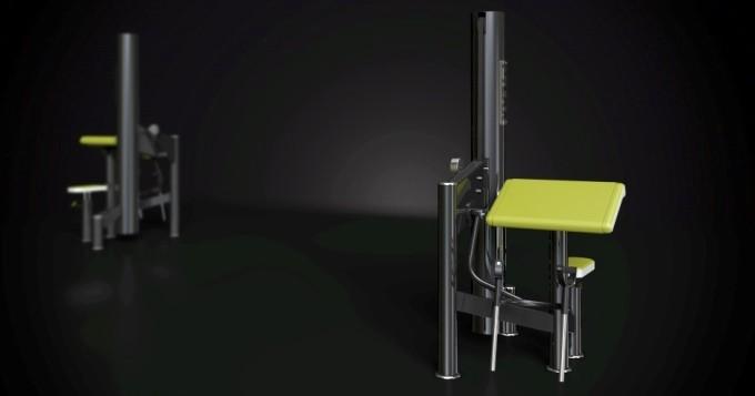 Posilovací stroj biceps izolovaný