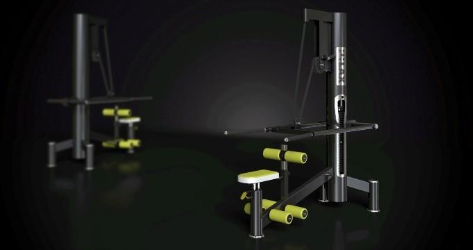 Posilovací stroj triceps v sedě i stoje
