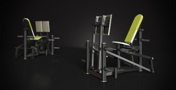 Posilovací stroj leg press
