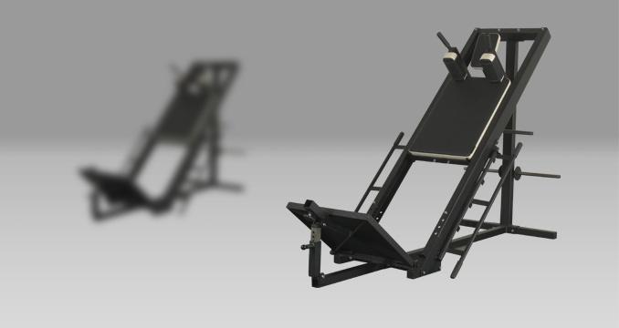 Posilovací stroj hacken i leg press klasik