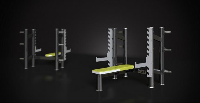 Posilovací lavice na tlaky rovná