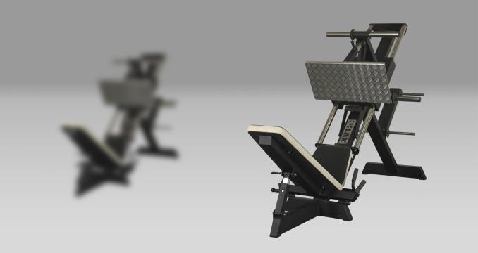 Posilovací stroj leg press kotouče klasik