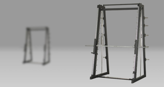 Multipress with counterweight