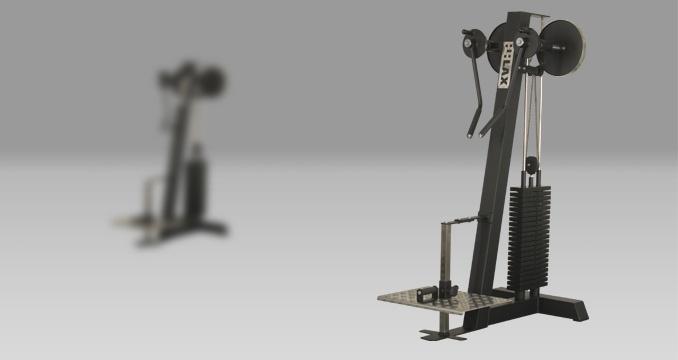 Posilovací stroj prsa i ramena upažování klasik