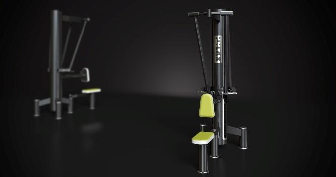 Urządzenia rehabilitacyjne siłowe – Przyrząd do ćwiczeń mięśni najszerszych grzbietu