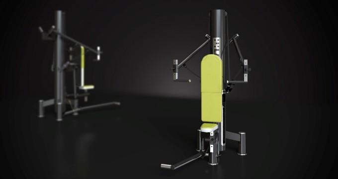Posilovací stroj reha new ramena tlak