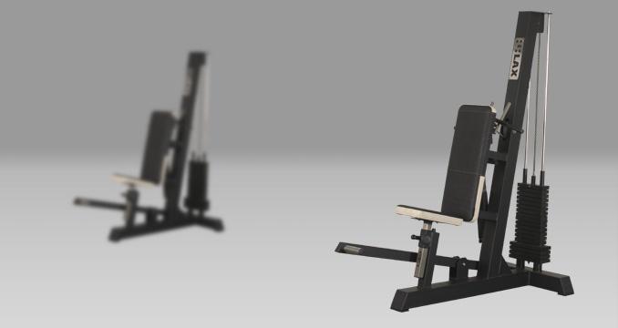 Posilovací stroj triceps v sedě za hlavou klasik