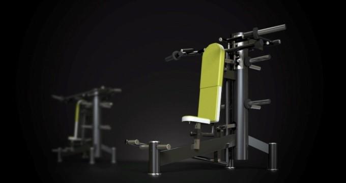 Posilovací stroj ramena tlak power