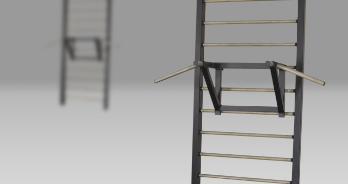 Suspension horizontal bar