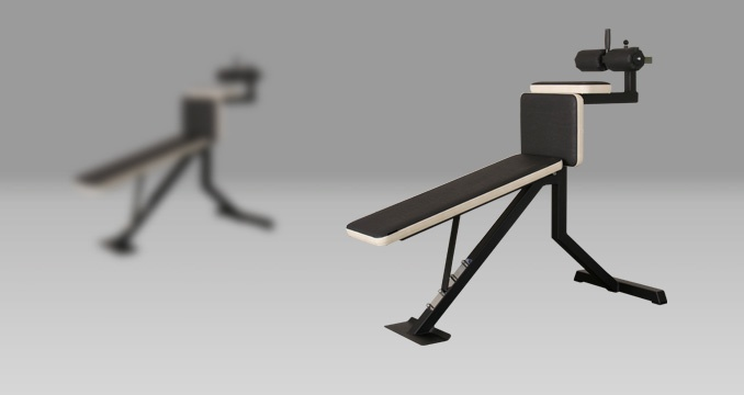 Posilovací lavice na břicho polohovací klasik