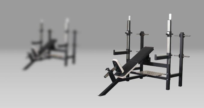 Posilovací lavice tlak hlavou nahoru klasik
